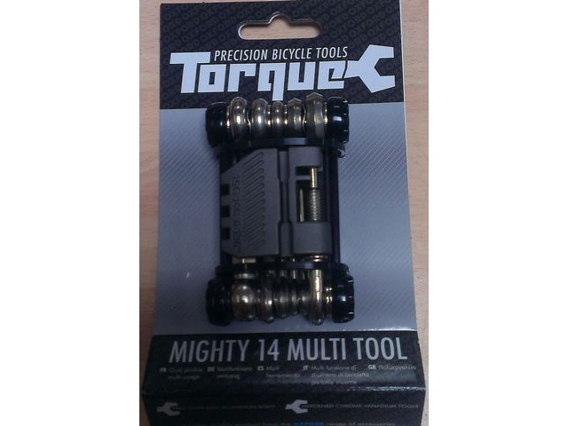TORQUE CYCLE TOOLS Mighty 14 Function Folding Multi Tool click to zoom image