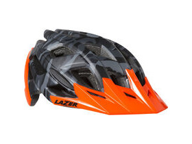LAZER HELMETS Ultrax matt black camo / flash orange