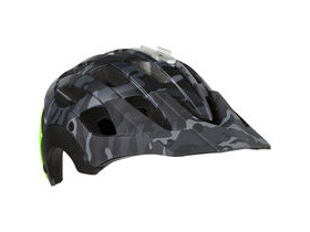 LAZER HELMETS Revolution matt black camo / flash green