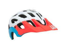 LAZER HELMETS Revolution matt white/coral/blue