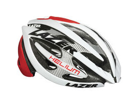 LAZER HELMETS Helium red / white small 2014