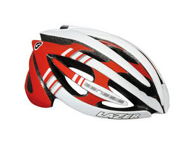 LAZER HELMETS Genesis red /white large 2013
