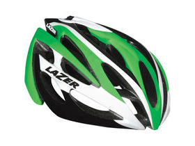 LAZER HELMETS O2 green / white small 2015