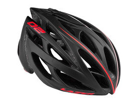 LAZER HELMETS O2 black red-line DLX small 2016