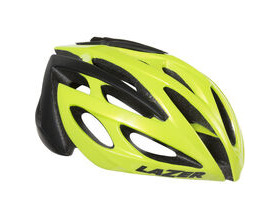 LAZER HELMETS O2 flash yellow / black small 2016