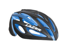 LAZER HELMETS O2 matt black with blue EPS Limited Edition