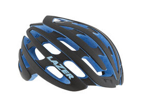 LAZER HELMETS Z1 with Aeroshell Black with Blue EPS Limited Edition