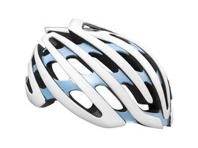 LAZER HELMETS Cosmo with Aeroshell white / blue medium women's 2016