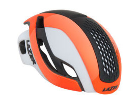 LAZER HELMETS Bullet gloss orange/white