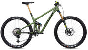 PIVOT CYCLES Switchblade V2 in Treeline Green XT-XTR Pro Build