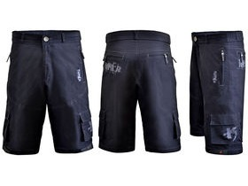 FUNKIER CLOTHING MTB Rider Baggy Short inc Liner Black