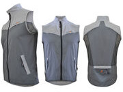 FUNKIER CLOTHING MTB Gillet 2 Tone Grey
