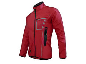 FUNKIER CLOTHING Waterproof Lightweight Pro Jacket in Red