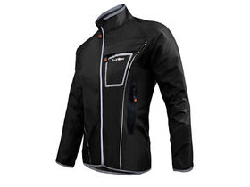 FUNKIER CLOTHING Waterproof Lightweight Pro Jacket in Black