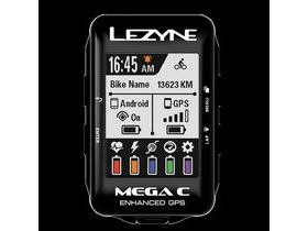 LEZYNE Mega C GPS Loaded Black