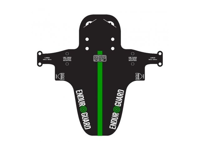 RAPID RACER PRODUCTS EnduroGuard Standard or Large Black and Green click to zoom image