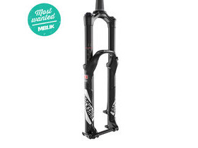 ROCK SHOX - Pike Rct3 - 27.5 Maxlelite15 - Solo Air 160 Diffusion Black - Crown Adj Alum Str - Tapered - Disc - My17 Black 27.5""