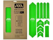 ALL MOUNTAIN STYLE (AMS) XL Frame Guard Frame Protection Kit Green
