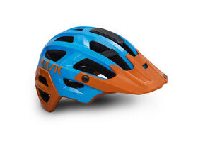 KASK HELMETS Rex MTB Helmet Light Blue - Orange