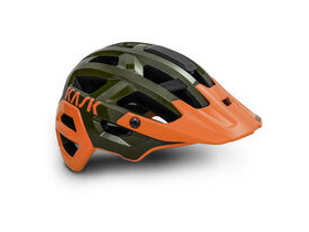 KASK HELMETS Rex MTB Helmet Dark Green - Orange