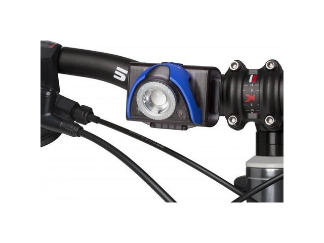 LED LENSER SEO B5R Rechargeable Cycle Light Blue click to zoom image
