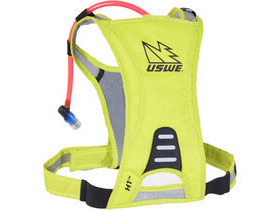USWE H1 Racer Hydration Pack with 500ml Disposable Baldder Crazy Yellow