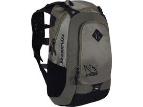 USWE Explorer 26 Pack Hydration Ready Mud Green