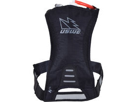 USWE H1 Racer Hydration Pack with 500ml Disposable Bladder Carbon Black