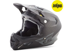 FLY RACING Werx Rival Mips Carbon Full Face Matte Black