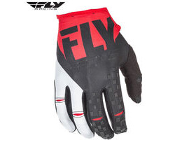 FLY RACING Kinetic Glove Red - Black