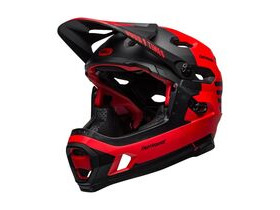BELL CYCLE HELMETS Super Dh Mips MTB Helmet Fasthouse Matte Red/Black