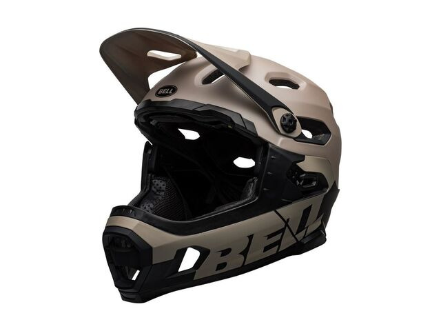 BELL CYCLE HELMETS Super Dh Mips MTB Helmet Matte/Gloss Sand/Black click to zoom image