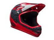 BELL CYCLE HELMETS Sanction MTB Full Face Helmet 2018: Gloss Hibiscus Reperation