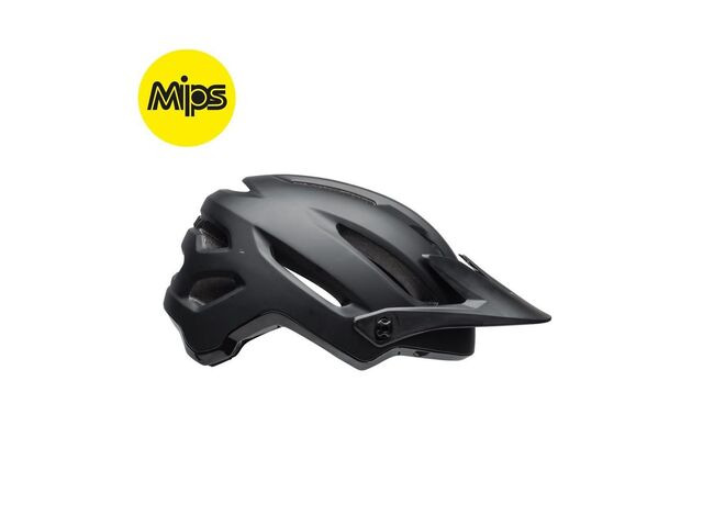 BELL CYCLE HELMETS 4forty Mips MTB Helmet 2018: Matt/Gloss Black click to zoom image