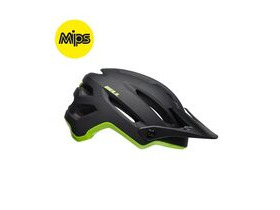 BELL CYCLE HELMETS 4forty Mips MTB Helmet 2019: Cliffhanger Matte/Gloss Black/Green