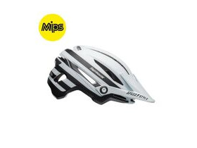 BELL CYCLE HELMETS Sixer Mips MTB Helmet 2019: Fasthouse Stripes Matte White/Black
