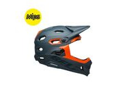 BELL CYCLE HELMETS Super Dh Mips MTB Helmet 2019: Matte/Gloss Slate/Orange