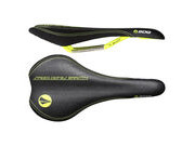 SDG COMPONENTS Circuit Mtn Ti-Alloy Rail Saddle Black/Yellow