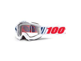 100% Accuri Goggles AF066 / Clear Lens