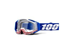 100% Racecraft Goggles Anthem / Clear Lens