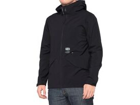 100% Hydromatic Waterproof Parka Black