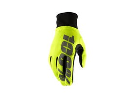 100% Hydromatic Waterproof Glove 2019 Neon Yellow S