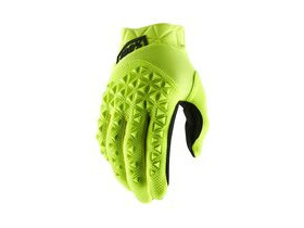 100% Airmatic Glove 2019 Fluo Yellow / Black