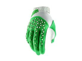 100% Airmatic Glove 2019 Fluo Lime / Silver