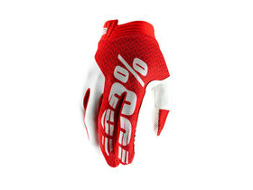 100% iTrack Glove 2019 Red / White