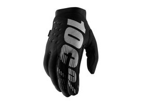 100% Brisker Cold Weather Glove 2019 Black / Grey