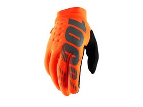 100% Brisker Cold Weather Glove 2019 Fluo Orange