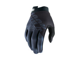 100% iTrack Youth Glove 2019 Black / Charcoal
