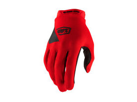 100% Ridecamp Glove Red