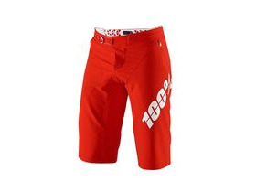 100% R-Core X Shorts Red